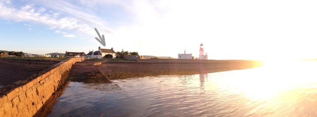 Low tide sun-rise