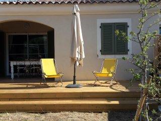 Appartamento T2 con giardino privato