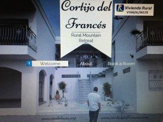 VILLA RURAL CORTIJO DEL FRANCÉS Finca 24has, coto caza,5min playa-ciudad,piscina