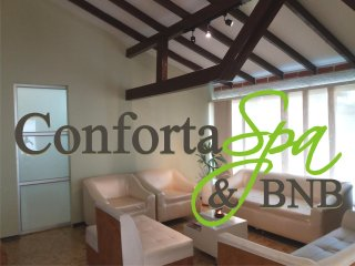 Comfortable suites at Conforta Spa includes 15 mins. massage for free