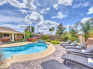 New! 'Paradise Estate' 5BR Phoenix Home w/ Pool!