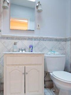 Bathroom for freshening up