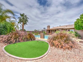 New! 6BR Scottsdale House w/ Backyard Oasis!