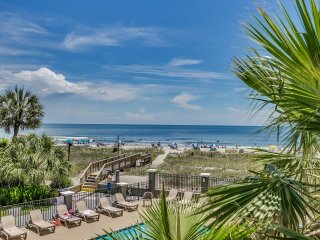 Large Luxury Oceanfront Three Bedroom two Bath Condo at Carolina Dunes!