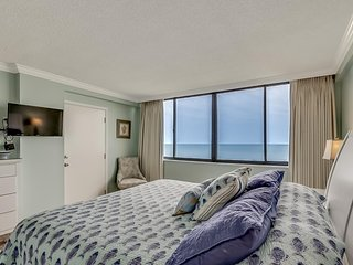 Large Oceanfront Two Bedroom Two Bath Condo at Carolina Dunes! (Fifth floor)