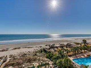 Luxury Oceanfront Two Bedroom Two Bath Condo at Carolina Dunes! (5th Floor)