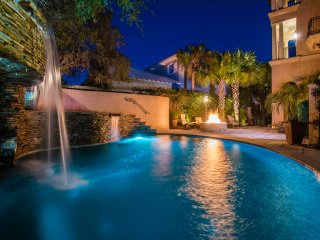 'Falling Waters Villa' ~ Private Heated Pool ~ Fantastic Lake & Gulf Views!