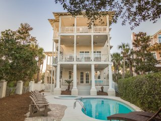 PRIVATE HEATED POOL! Complimentary Beach Set Up! Just Steps from Beach!