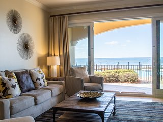 Gulf Front Luxury Condo! Ground Level and quick access to the beach and pools