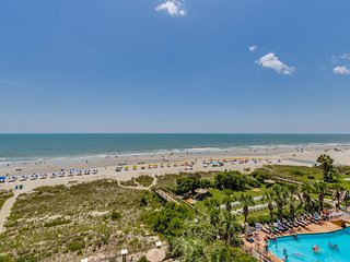 Large Oceanfront Three Bedroom Two Bath Condo at Carolina Dunes! (5th Floor)