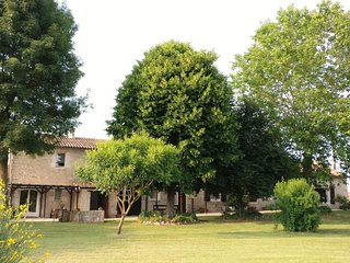 Cottages de Garrigue is a 17th century barn split into holiday cottages and the main house.