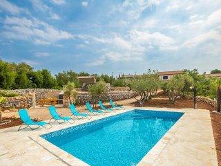 14901 Wunderschöne rustikales Ferienhaus mit privat Pool
