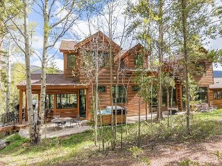 6BR, 6.5BA Luxury Mountain Estate w/ Hot Tub, Home Theatre, 5 Fireplaces, Spa
