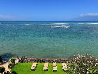 Kahana Reef 106 - 1 Bedroom Direct Ocean Front