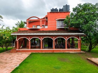Red House, Karjat - Spacious Pool Villa with Garden, Inclusive of Meals