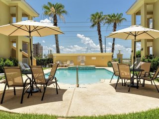 Expands for FAMILIES with one next door!!  Poolside condo in gated complex!