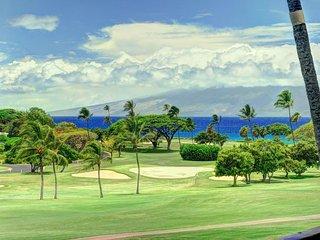Maui Eldorado Resort A208 - golf course, ocean views, and resort pool!