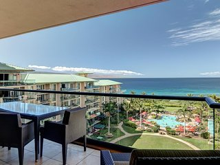 Honua Kai - Hokulani 829 with a lanai, access to beach, pools, hot tubs & more!