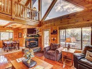 Spacious cabin w/2,750 sq. feet of fun from the game room to the hot tub!