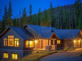 Spacious ski-in/ski-out home with stunning mountain views and private hot tub!