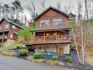 Cozy cabin w/ a hot tub, shared seasonal pool access, and more!