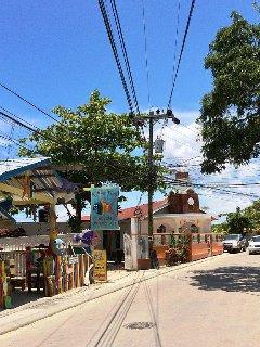 Main street at West End Village