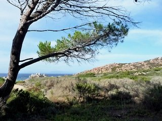 Cottage-Apartment In Rural Sardinia With Blue Sea Views And Beach