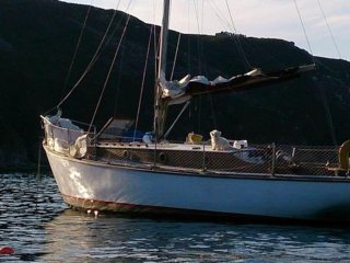 Cassiopea - Classic wooden sailing yacht on the Costa Dorada