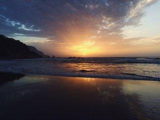 Casa para tocar el cielo,la montaña y el mar