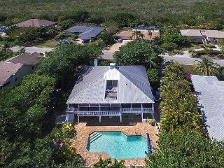 Stilted home with heated pool in The Dunes