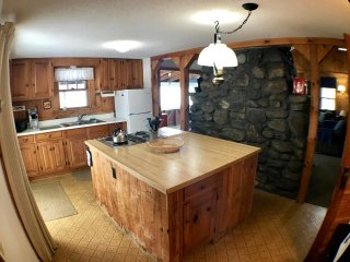 Ossipee Lake home with sunsets and great location!