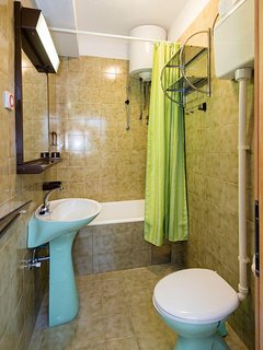 A(3): bathroom with toilet