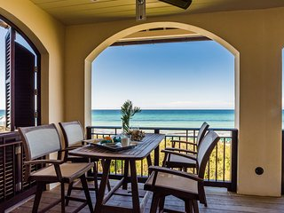 Beachfront in Rosemary Beach! Unforgettable Gulf Views! Luxury Interiors!