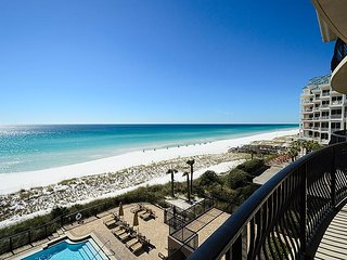 Newly Furnished 3rd Floor Gulf Front Condo! Complimentary Beach Service!