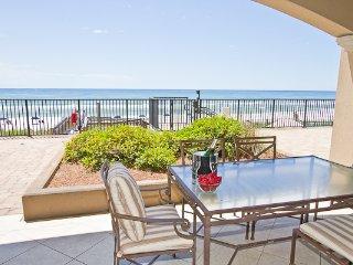 Villa Coyaba 104 ~ Luxury Gulf Front First Floor! Beach Chair Service!