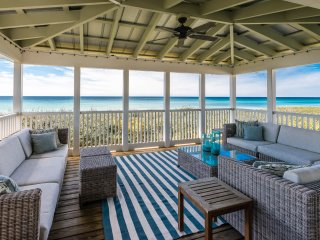 ON THE GULF in quaint Seaside! Amazing Views! Large Porches!