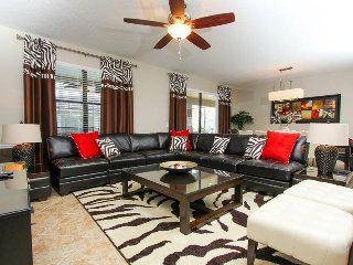 9101ECL. 7 Bed 5 Bath Pool Home Located In The Prestigious Champions Gate Resort