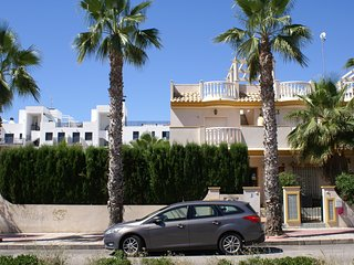 Cabo Roig sea view villa with airco and wifi
