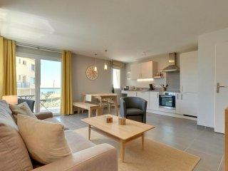 Villa Côté Plage - appartement neuf front de mer 2/4 personnes à Hardelot-Plage