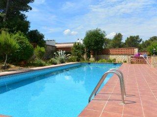 Villa para 10 personas con impresionantes vistas y piscina privada