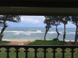 Kauai Kapaa #324 Oceanfront condo Vacation Rental condo by owner OCEAN !!