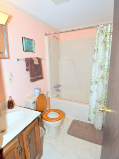 The Full Bathroom with Combination Tub & Shower
