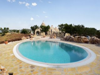 Traditional trullo w/pool & terrace