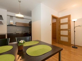 Angel I apartment in Smíchov with private parking & lift.