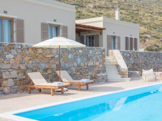 Syros beautiful sea view villa Blue Line