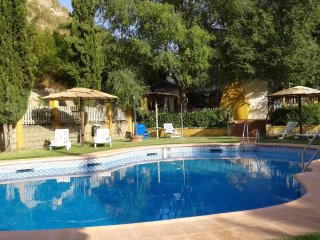 House with 4 rooms in Palenciana, with private pool, enclosed garden and WiFi