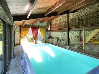 Stunning villa in the ardeche with garden, panoramic views and shared pool
