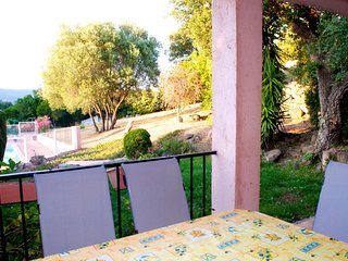 Corsican villa with shared pool