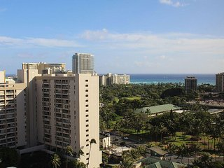 Hawaiian Monarch #2308 - Studio/1BA, High Floor, Ocean Views