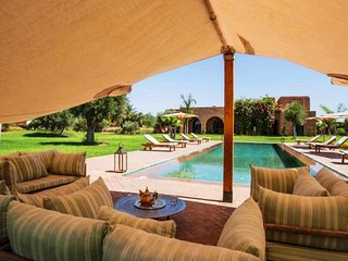 Dar with 6 rooms in Marrakech, with private pool, terrace and WiFi